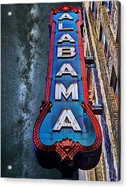 Alabama Acrylic Print