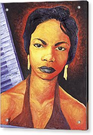 Alabamas Got Me So Upset Acrylic Print by Marcus Anderson