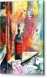 Alabastro Wine From Italy Acrylic Print by Miki De Goodaboom
