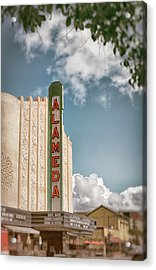 Alameda Theater California Acrylic Print by Mary Lee Dereske