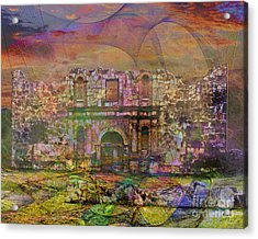Alamo - After The Fall Acrylic Print by John Robert Beck
