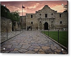 Acrylic Print featuring the photograph Alamo by John Gilbert