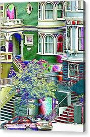 Alamo Park View Acrylic Print