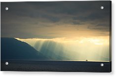 Alaska Inside Passage Under The Clouds Acrylic Print