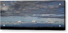 Alaska Mountains Acrylic Print by Dave Clark