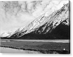 Alaska Mountains Acrylic Print by Ty Nichols