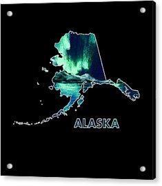 Alaska - Northern Lights - Aurora Hunters Acrylic Print by Anastasiya Malakhova