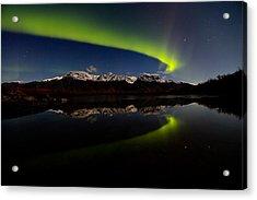 Alaska Northern Lights Acrylic Print by Sam Amato