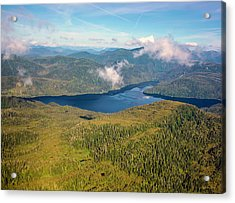 Acrylic Print featuring the photograph Alaska Overview by Madeline Ellis