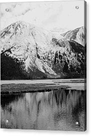 Alaska Reflection Acrylic Print by Ty Nichols