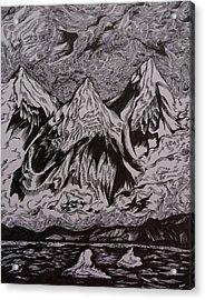 Alaska Song Acrylic Print by Anna  Duyunova