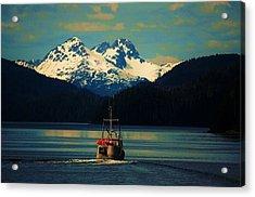 Alaskan Cruise Acrylic Print