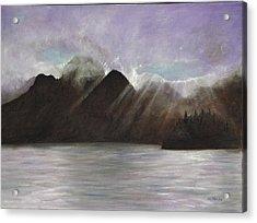 Alaskan Morning Acrylic Print by Merle Blair