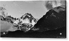 Alaskan Mountain Range Acrylic Print