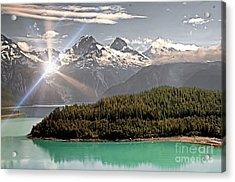 Alaskan Mountain Reflection Acrylic Print