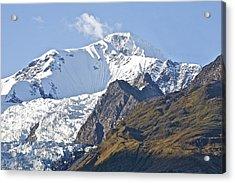 Alaskan Snowtop Acrylic Print by Robert Joseph