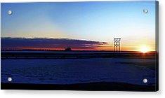 Alaskan Sunrise Acrylic Print