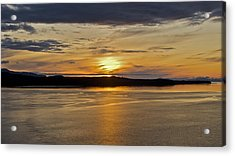 Alaskan Sunset Acrylic Print by Robert Joseph
