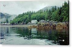 Acrylic Print featuring the photograph Alaskan Village 2 by Judyann Matthews