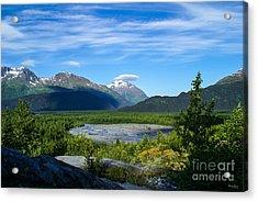 Alaska's Exit Glacier Valley Acrylic Print