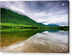 Alaska's Mirror Lake Acrylic Print