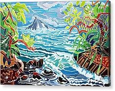 Alau Island Acrylic Print by Fay Biegun - Printscapes