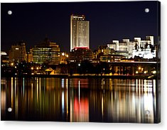 Albany On The Hudson Acrylic Print
