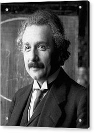 Albert Einstein Nel 1921 Acrylic Print