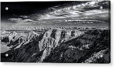 Acrylic Print featuring the photograph Alberta Badlands by Wayne Sherriff