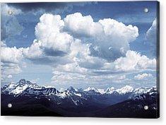 Alberta Mountain Panorama Acrylic Print
