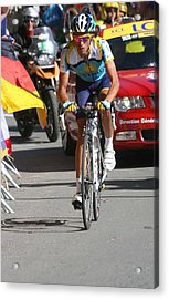 Alberto Contador - Mountain Stage Acrylic Print