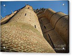 Albi Cathedral Low Angle Acrylic Print by RicardMN Photography