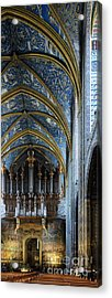 Albi Cathedral Nave Acrylic Print