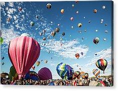 Albuquerque Balloon Fiesta Acrylic Print
