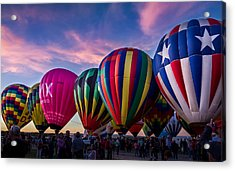 Albuquerque Hot Air Balloon Fiesta Acrylic Print