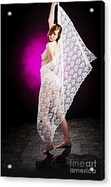 Nude Fine Art Print Woman Photo In Color 7104.02 Acrylic Print