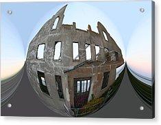 Alca Spherical Acrylic Print by Holly Ethan