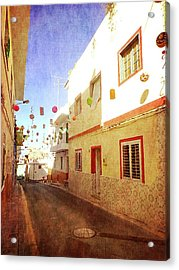 Acrylic Print featuring the photograph Alcala Fiesta Street by Anne Kotan