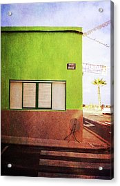 Acrylic Print featuring the photograph Alcala Green Corner by Anne Kotan