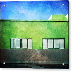 Acrylic Print featuring the photograph Alcala Green House No1 by Anne Kotan