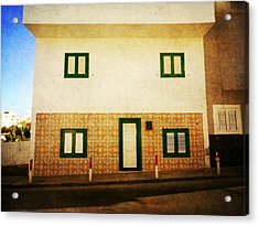 Acrylic Print featuring the photograph Alcala White House No1 by Anne Kotan