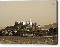 Alcatraz Acrylic Print by Denise Pohl