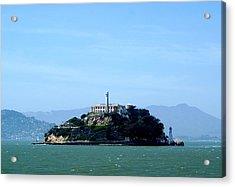 Alcatraz Island Acrylic Print by Sonja Anderson