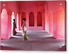 Alcoves Acrylic Print by Marji Lang