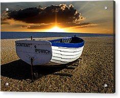 Aldeburgh Beach Acrylic Print