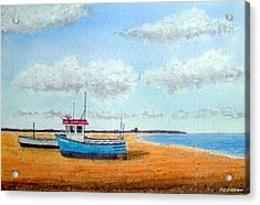Aldeburgh Beach, Suffolk - Sold Acrylic Print