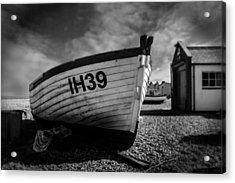 Aldeburgh Fishing Boats Acrylic Print