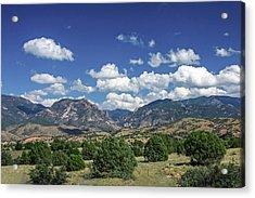 Aldo Leopold Wilderness, New Mexico Acrylic Print