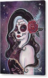 Alegria Day Of The Dead Acrylic Print by Renee Lavoie