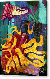 Alegria Acrylic Print by Sarah Loft
